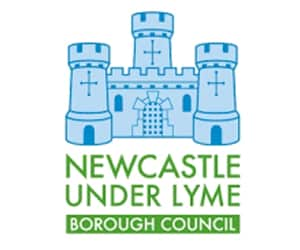 logo for Newcastle-under-Lyme council shown